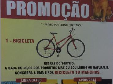 Promoção – Bicicleta 18 marchas